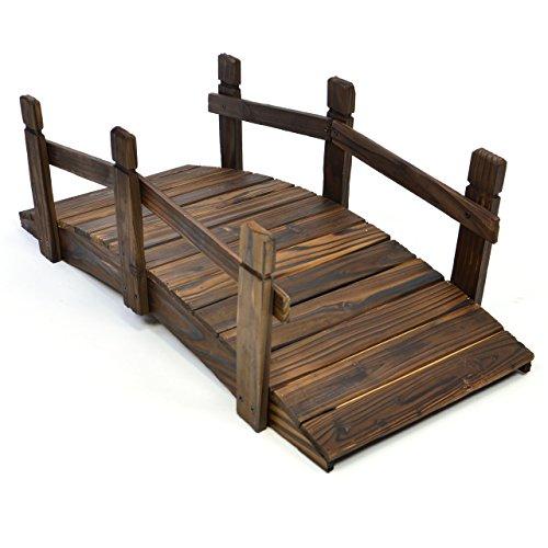 holzbrücke für teich, holzbrücke teich, holzbrücke für garten