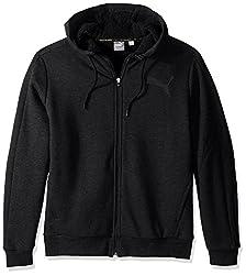 Puma Mens Sherpa Full Zip Hoody, Cotton Black, XX-Large