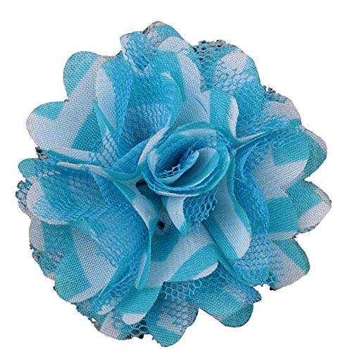 HB00157C Surker bricolage Stain floral Fleur Coiffe (10)