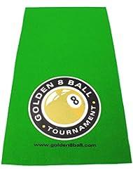 Hainsworth–Paño de mesa de billar (logotipo grande de Golden 8Ball