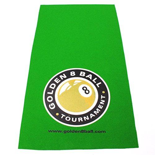 Hainsworth Table de billard Létagère Chiffon-Grand logo Golden 8Ball