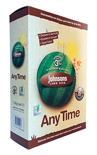 Johnsons 655381 1.5Kg Any Time Lawn Seed