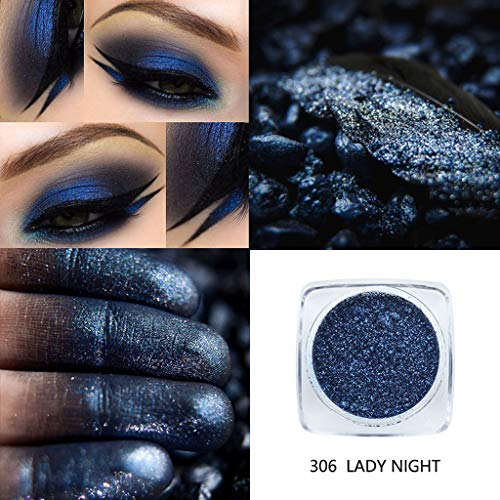 PHOERA Farben Lidschatten Highlighter Glitter Powder Shimmering Colors Lidschatten Metallic Eye Cosmetic By Vovotrade (Neueste Mac Pro)