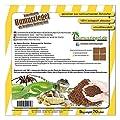 Humusziegel - Kokoseinstreu Bodensubstrat für Reptilien - Terrariensubstrat 70 L von Humusziegel auf Du und dein Garten