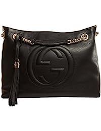 Gucci - Soho Bolsa de hombro de cuero Para mujer