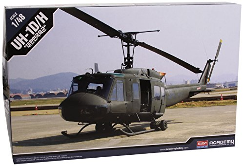 """Price comparison product image Academy ROK UH-1D/H """"Huey"""" Helicopter - 1:48 Plastic Kit"""