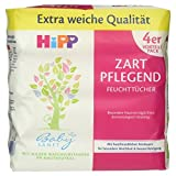 HiPP Babysanft Feuchttücher 4 x 56 Stück, 1er Pack (1 x 988 g)