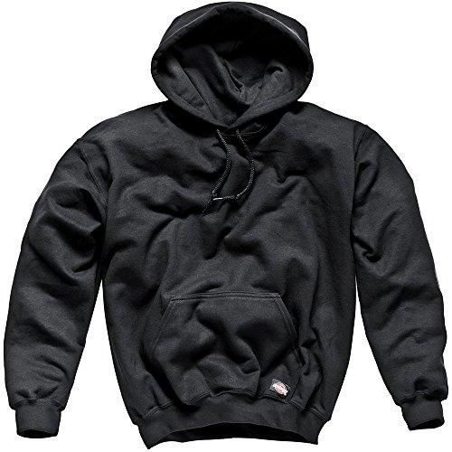Dickies Sh11300 Bk L Size Large Hooded Sweat Shirt - Black