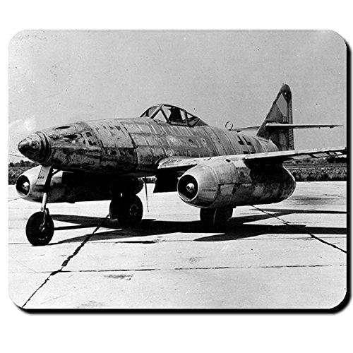 Preisvergleich Produktbild Me262 Luftwaffe Düsenjet Flugzeug Jäger Foto Bild Deutschland Wk 2 - Mauspad Mousepad Computer Laptop PC #9534