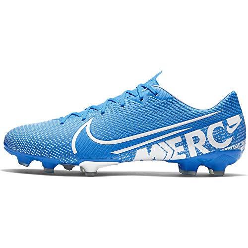 Nike Unisex-Erwachsene Vapor 13 Academy Fg/Mg Fußballschuhe, Mehrfarbig (Blue Hero/White/Obsidian 414), 44.5 EU -