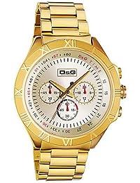 D&G Dolce&Gabbana Herren-Armbanduhr PAMPELONNE CHR IPG LIGHT GOLD DIAL IPG BRC DW0432