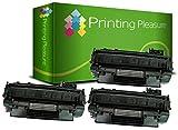 Printing Pleasure 3 Toner kompatibel für HP Laserjet P2030 P2033 P2035 P2035N P2050 P2055 P2055D P2055DN P2055X Canon MF5880DN LBP6300DN LBP6310DN LBP6650DN LBP6670DN | CE505A 05A CRG 719 3479B002