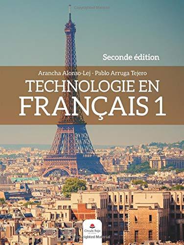 Technologie en Français 1. Seconde edition