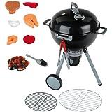 Theo Klein Weber kettle barbecue OT Premium - juguetes de rol para niños (Niño, Negro)