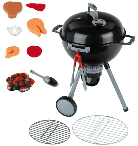Klein - 9401 - Jeu d'imitation - Barbecue Weber One Touch Premium