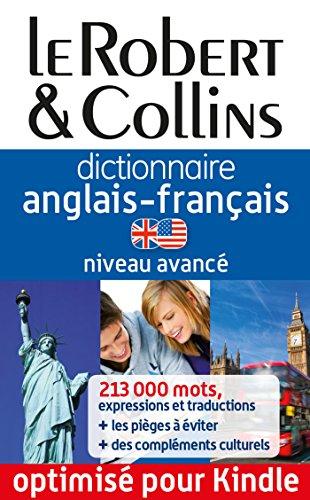 Dictionnaire anglais-français Le Robert & Collins - Niveau avancé