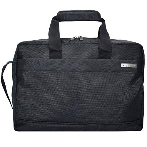 d&n Travel Line 5600 Aktentasche mit Laptopfach 17,1 Zoll Schwarz - Office Line Kollektion