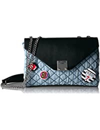 GUESS Rochelle Denim Mini Convertible Crossbody