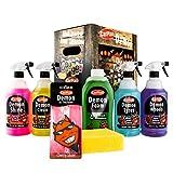 Carplan DGP001 Demon Pack 7 Pieces Car Shampoo Cleaner Sponge Air Freshener