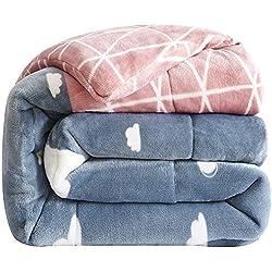 Blanket Dicke Steppdecke, warme Steppdecke, antistatische Samtdecke, weiche, Flauschige, feuchtigkeitsdurchlässige Steppdecke.
