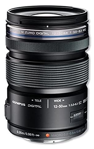 Olympus Objectif M.ZUIKO DIGITAL ED 12‑50mm 1:3.5‑6.3 EZ Noir