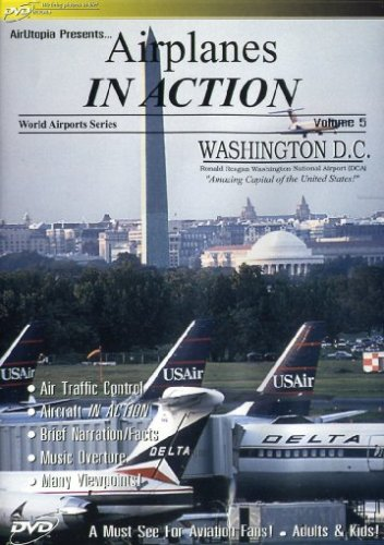 Reagan National Airport (Washington Reagan National Airport - Boeing 727 Jetliners in Action)