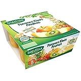 Blédina coupelles fruits pomme kiwi ananas 4x100 g dès 8 mois - ( Prix Unitaire ) - Envoi Rapide Et Soignée