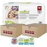Pack 300 couches BIO Swilet Newborn Taille 1 Newborn (2-4kg)