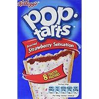 Kellogg's Pop Tarts aux Fruits à la Fraise 399 g
