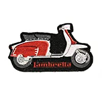 Lambretta ladm01Doormat, Coir, Red, 80x 40x 2cm