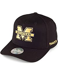b6ac14cd67276 Gorra Eazy Michigan Wolverines de Mitchell   Ness - Negro