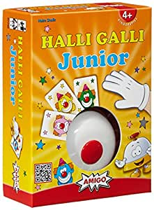 "Amigo - 7790 - Jeu de société ""Halli Galli Junior""  - Langue: allemande"