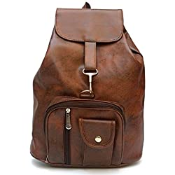 Alice Women's /Girl's Backpack Handbag (Brown,Bag Bkp 28)