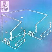 Wandkings BOARDPOD ONE supporto a muro con uno allggiamenti per 1 Kite-, Long-, Skate-, Snow-, Wakeboard & di più