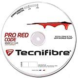 TECNIFIBRE Pro Red Code Cordaje de Tenis Rollo 200m, 1.25mm