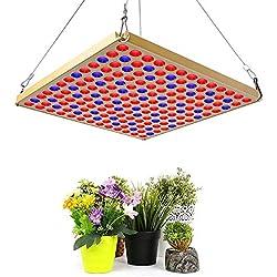 Toplanet LED Pflanzenlampe 45w Grow Lampe Rot Blau Light Vollspektrum für Innen Gewächshaus Grow Box Hydroponik Gemüse