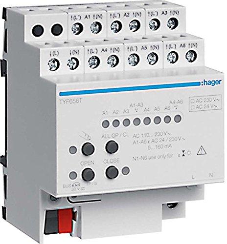 Hager TYF656T Heizungsausgang KNX 6-fach Triac 230V
