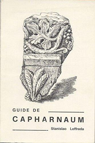 Guide de capharnaum par Loffreda Stanislao