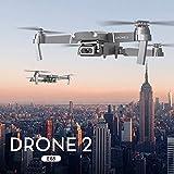 Nouveau Drone X-pro 2.4G Selfie WiFi FPV avec Caméra HD 4K Quadricoptère RC pliable RTF Une Clé Décollage / Atterrissage, Maintien en Altitude, Grands Cadeaux Jouets YUYOUG (B)