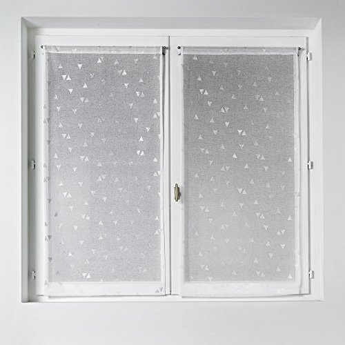 home-maison-03204-2-al-paire-de-vitrage-etamine-impression-argent-blanc-45-x-120-cm