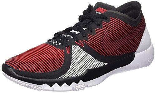 Nike Herren Free Trainer 3.0 V4 Hallenschuhe Rot (Universitätsrot/Weiß/Schwarz 601) 45 EU