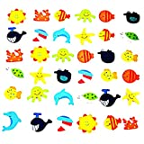 #8: Fridge stickers,12pcs Novelty Animals Wooden Fridge Magnet Cute Children Toy