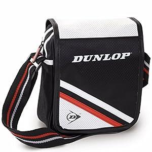 Bolsa bandolera marca Dunlop, poliéster. 17x23x6.5cm.