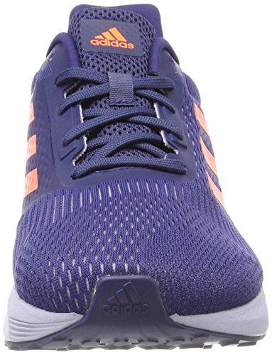 adidas Damen Response St Laufschuhe Mehrfarbig (Noble Indigo S18/hi-res Orange S18/aero Blue S18)