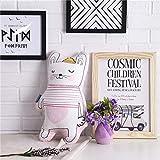 BSHOP Cuscini Cute Girl Cartoon Cuscino Soggiorno Divano Comodino Finestra Galleggiante Cuscino Sedia da Ufficio Cuscino con Core, 35X50 cm, Gatto,