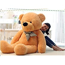 verc Art Regalo oso de peluche gigante Gentleman oso de peluche muñeca color marrón claro