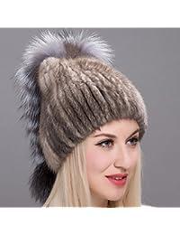 Wuyulunbi  Tejer un sombrero de un sombrero y un sombrero para un gorro  calentito a07a12dd0030