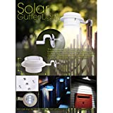 SOONHUA Wireless Solar Powered LED Light Lamp Energy Saving for Outdoor Wall Garden Lamp Patio Deck Yard