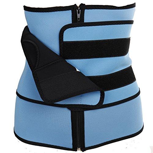 MISS MOLY Waist Trainer|Damen Neopren Shaper Taillenformer zum Abnehmen Sport Sweat Slimming Belt Shapewear Mit Stark Figurformend Klettverschluss