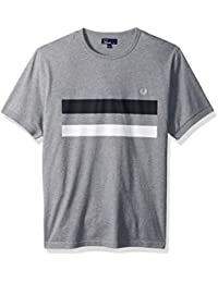 Fred Perry Men's Bold Print Tipped T-Shirt
